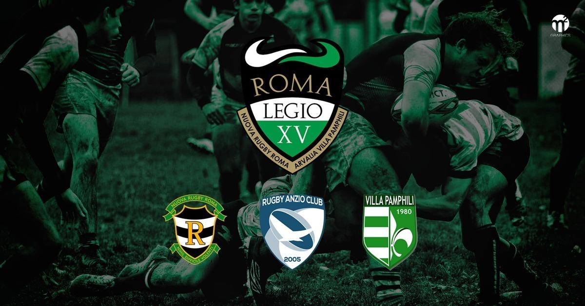 RugbyAnzioClub in franchigia con Legio Invicta